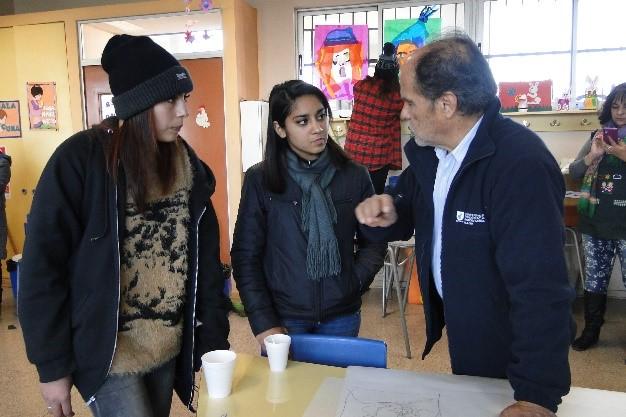 Curso de Extensión, Liceo Florencia Ferrari, comuna de Recoleta